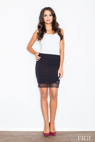 Dámská sukně Figl M419 černá