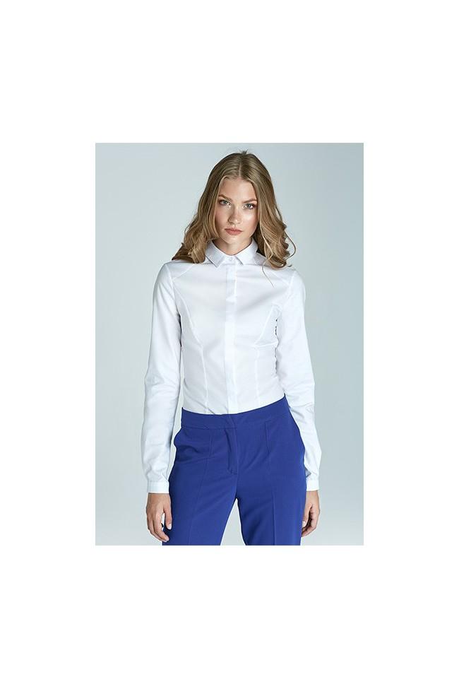 Dámská košile Nife K47-bílá