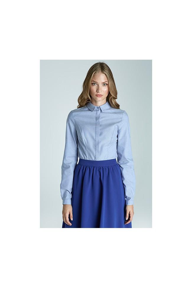 Dámská košile Nife K47-modrá