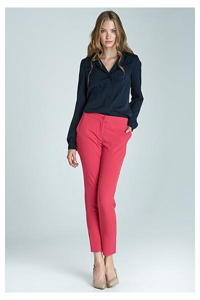 Dámské kalhoty Nife Sd22 - purpurová