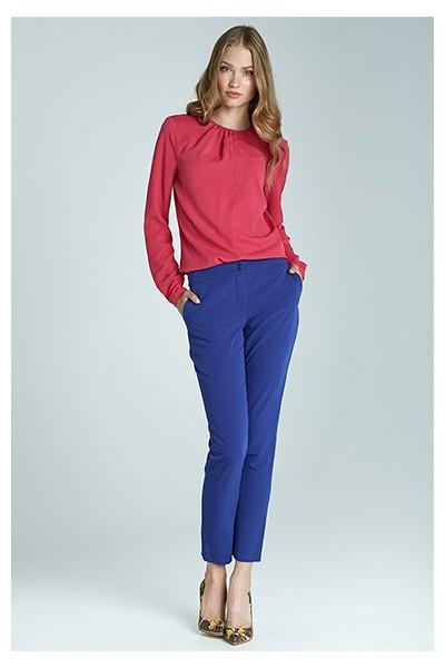 Dámské kalhoty Nife Sd22 - modrá