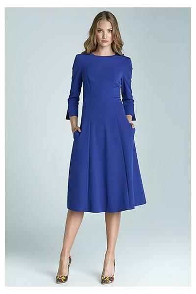 Dámské šaty Nife S64 modrá