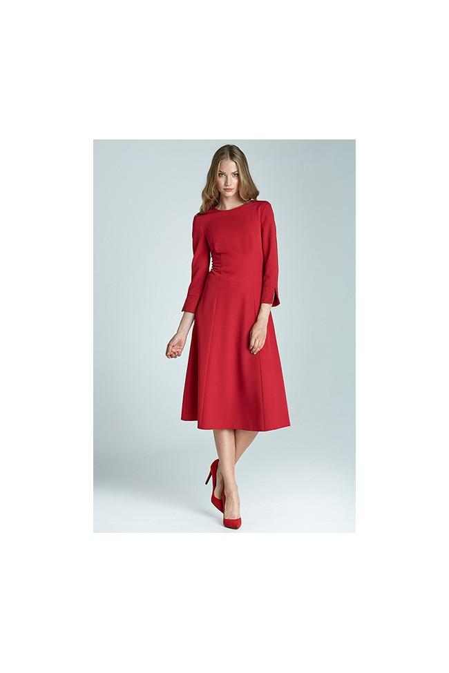 Dámské šaty Nife S64 červené