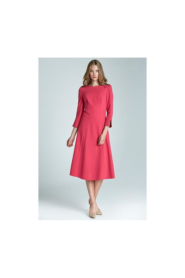Dámské šaty Nife S64 purpurová