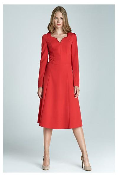 Dámské šaty Nife S66 červené