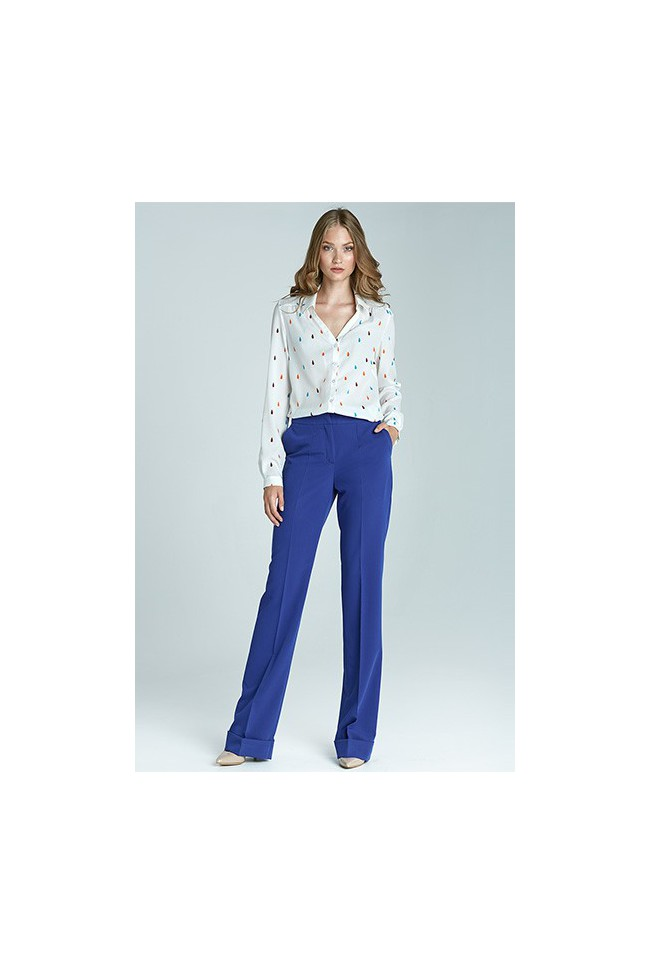 Dámské kalhoty Nife Sd21 - modré
