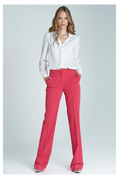Dámské kalhoty Nife Sd21 - purpurová