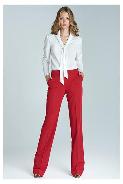 Dámské kalhoty Nife Sd21 - červené