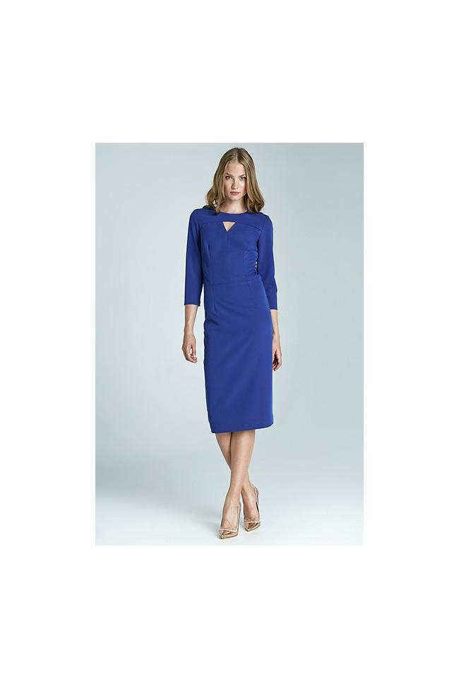 Dámské šaty Nife S65 modré