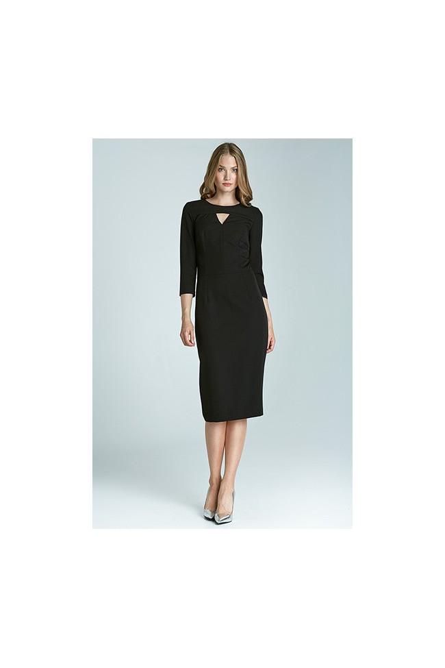 Dámské šaty Nife S65 černé