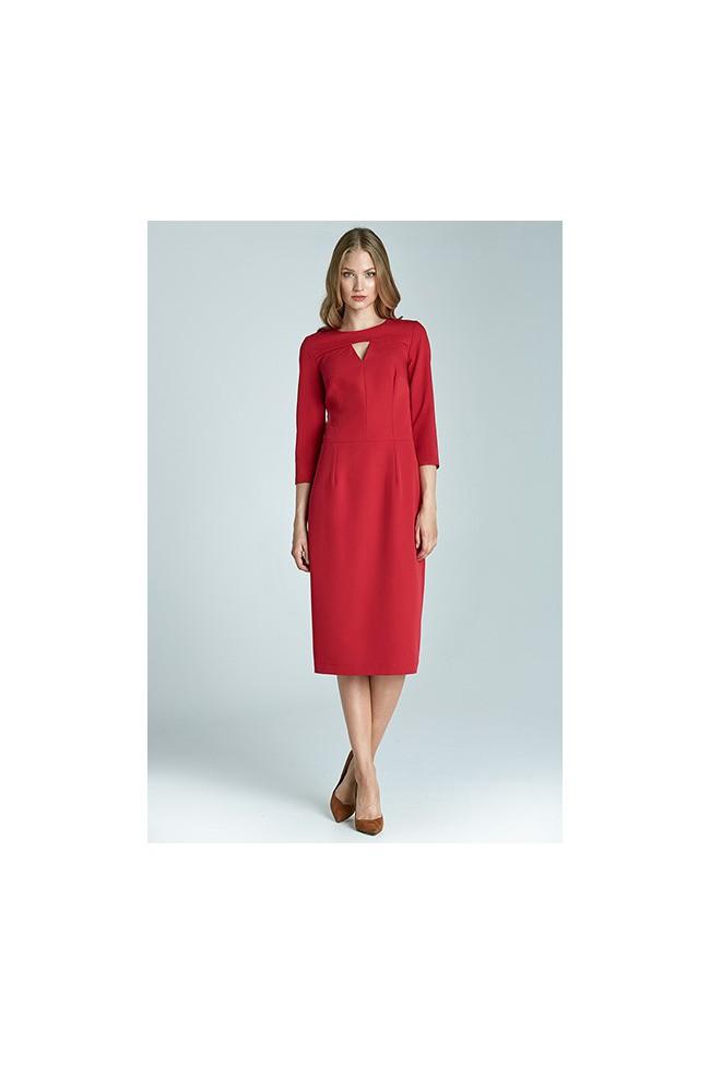 Dámské šaty Nife S65 červené