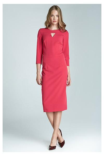 Dámské šaty Nife S65 purpurová