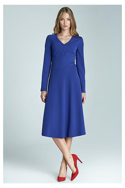 Dámské šaty Nife S67 modré