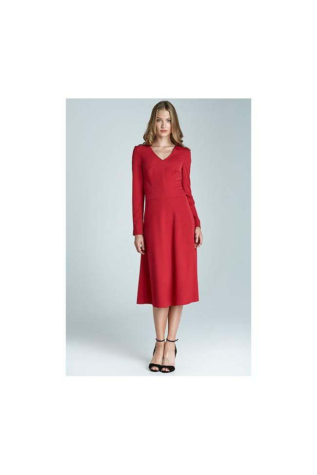 Dámské šaty Nife S67 červená