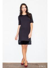 Dámské šaty Figl  M 429 černé
