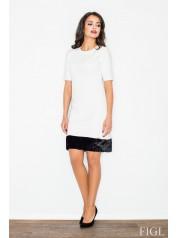 Dámské šaty Figl  M 429 ecru