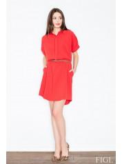 Dámské šaty Figl  M442 červené