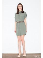 Dámské šaty Figl  M442 zelené