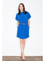 Dámské šaty Figl  M442 modré
