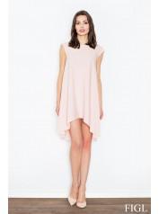 Dámské šaty Figl  M450 růžová