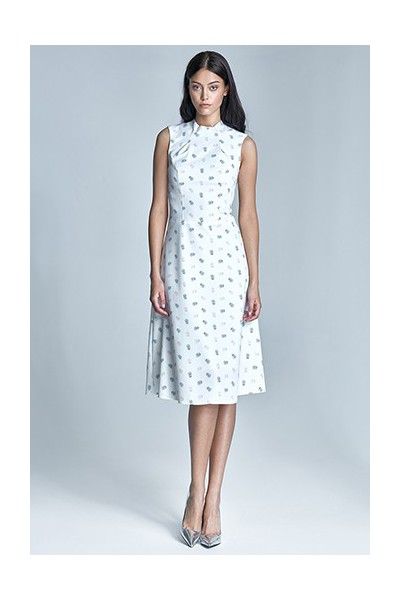 Dámské šaty Nife S70-ecru-béžová