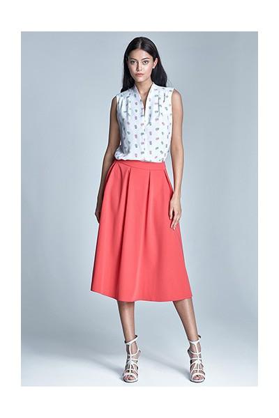 Dámská sukně Nife Sp29 korálová