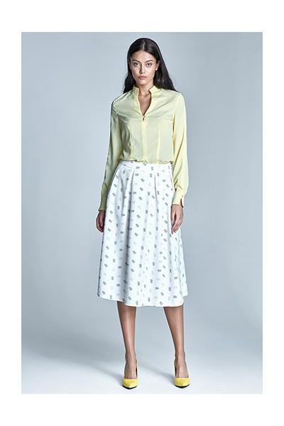 Dámská sukně Nife Sp29 ecru-béžová