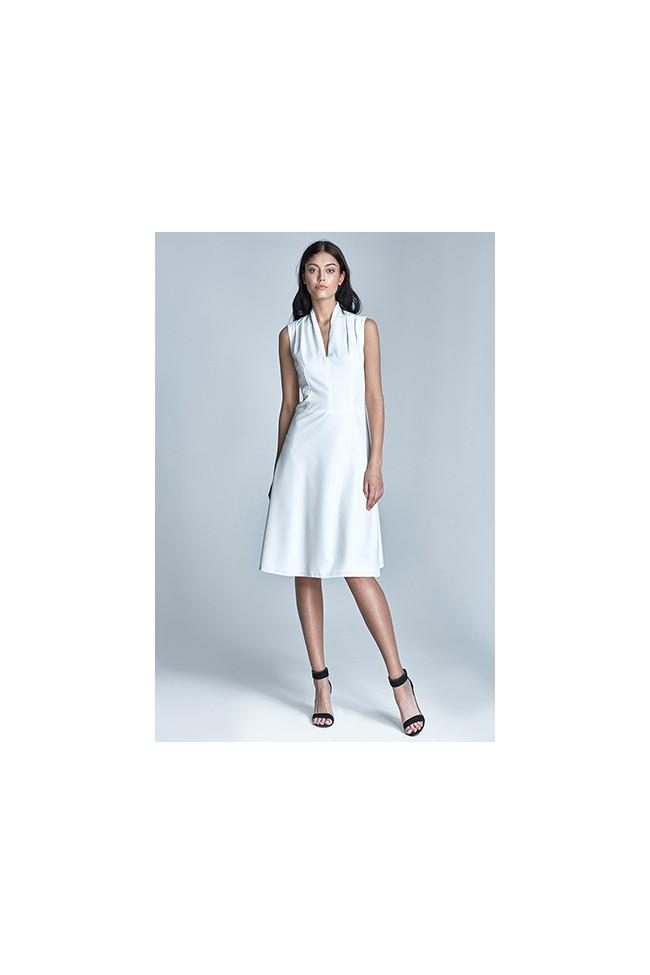 Dámské šaty Nife S74-ecru