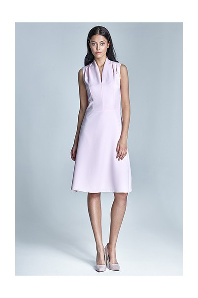 Dámské šaty Nife S74-růžová