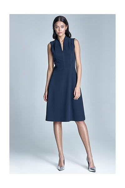 Dámské šaty Nife S74-granát