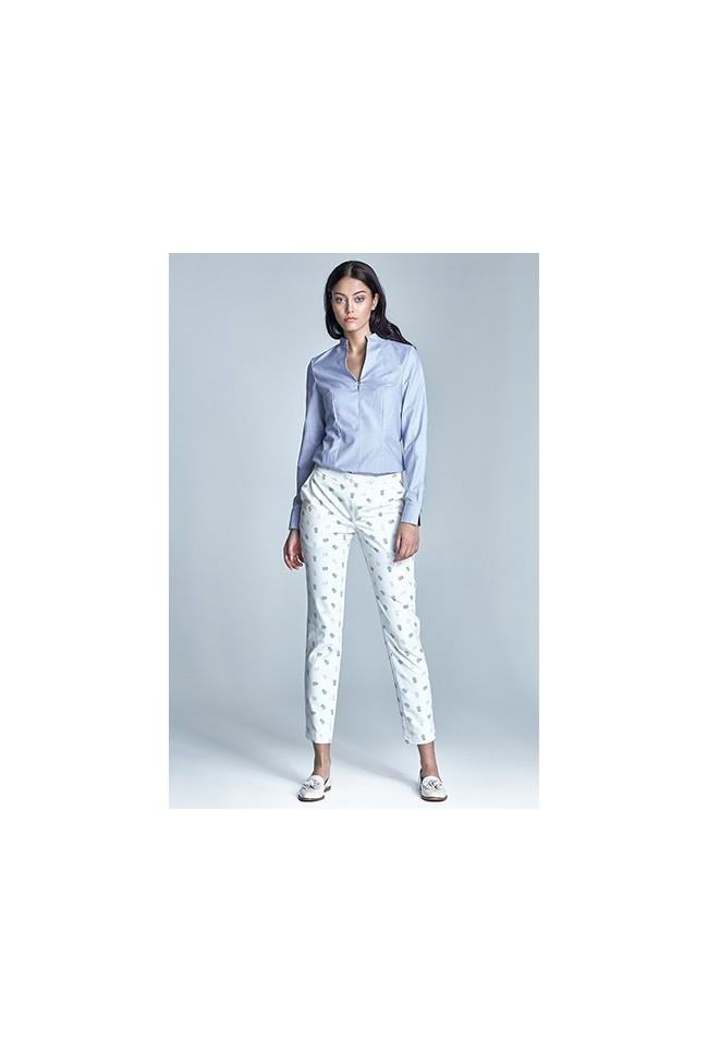 Dámské kalhoty Nife Sd23 - ecru-béžové