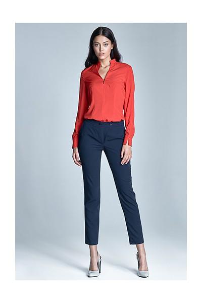 Dámské kalhoty Nife Sd23 - granát