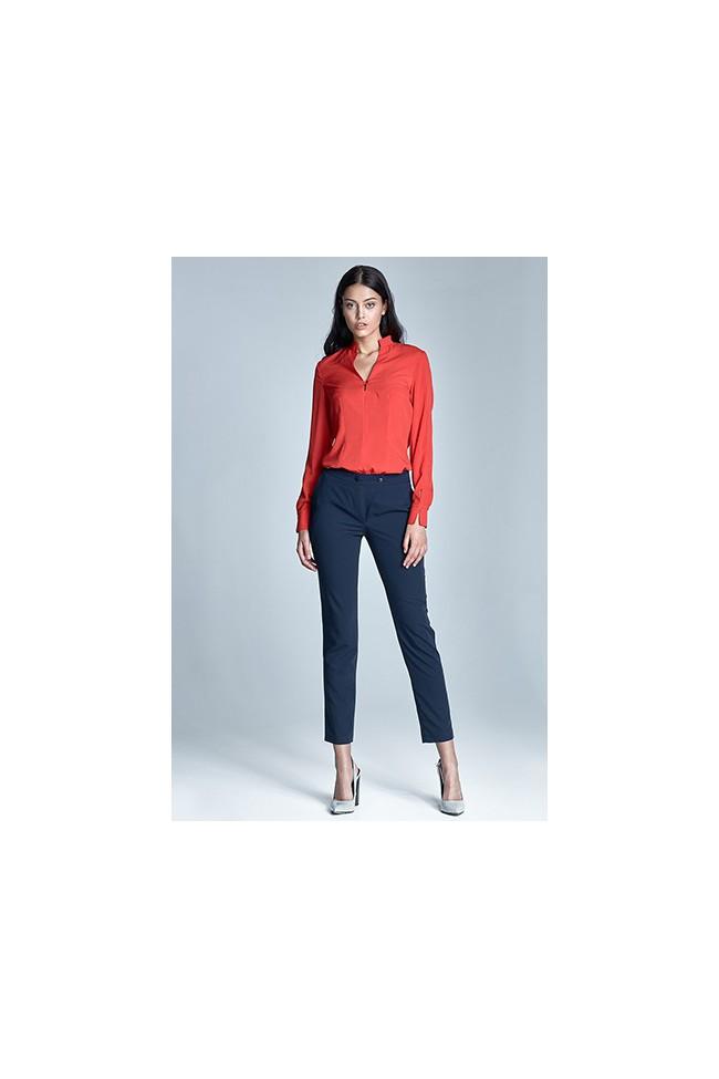 a0260643f57c Dámské kalhoty Nife Sd23 - granát - Forseti-fashion.cz
