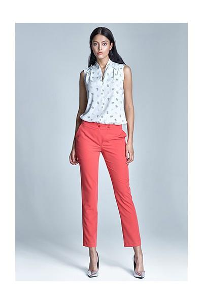 Dámské kalhoty Nife Sd23 - korálové