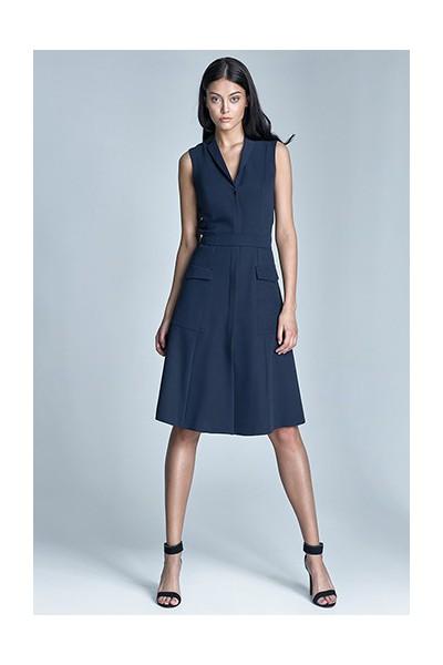 Dámské šaty Nife S72 modré