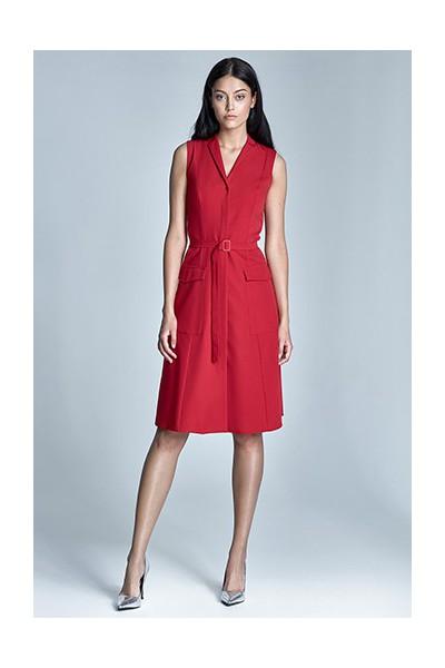 Dámské šaty Nife S72 červená