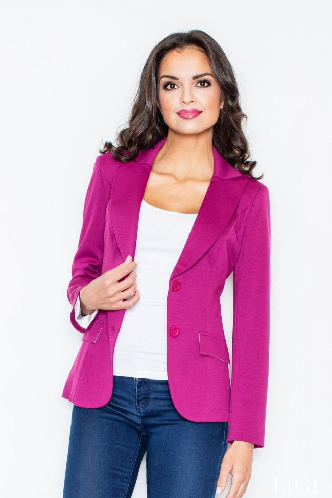Dámské sako Figl 85 purpurové