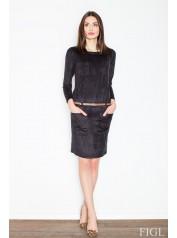 Dámské šaty Figl  M452 černé