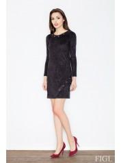 Dámské šaty Figl  M455 černé