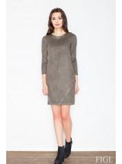 Dámské šaty Figl  M455 olivová