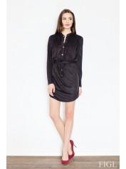 Dámské šaty Figl  M454 černé
