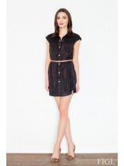 Dámské šaty Figl  M 451 černé
