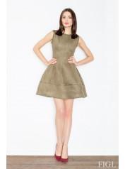 Dámské šaty Figl  M 457 olivové