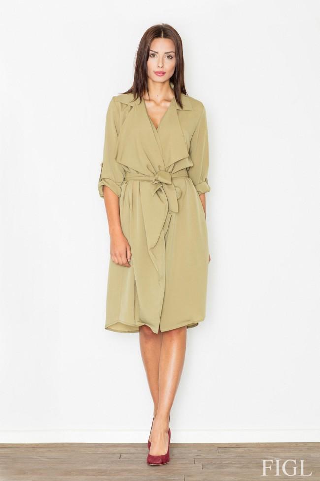 Dámské šaty Figl  M 464 zelené