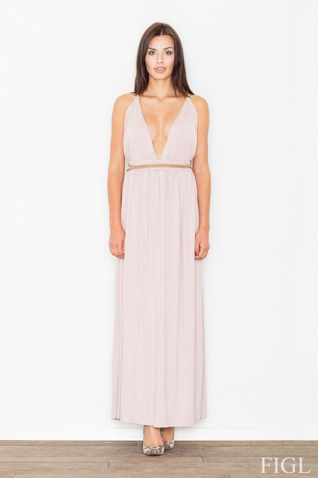 Dámské šaty Figl  M 483 růžové