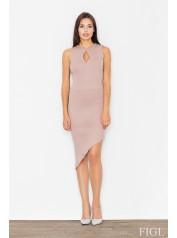 Dámské šaty Figl  M 486 růžová