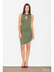 Dámské šaty Figl  M 486 zelená