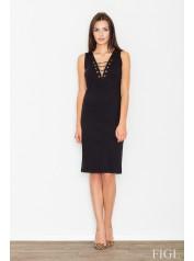Dámské šaty Figl  M 487 černé