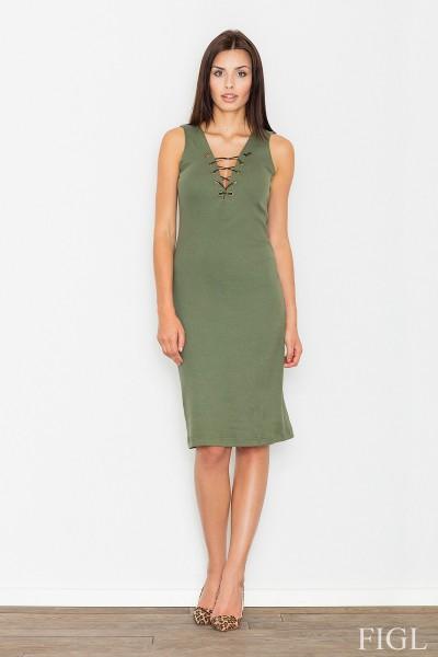 Dámské šaty Figl  M 487 zelená