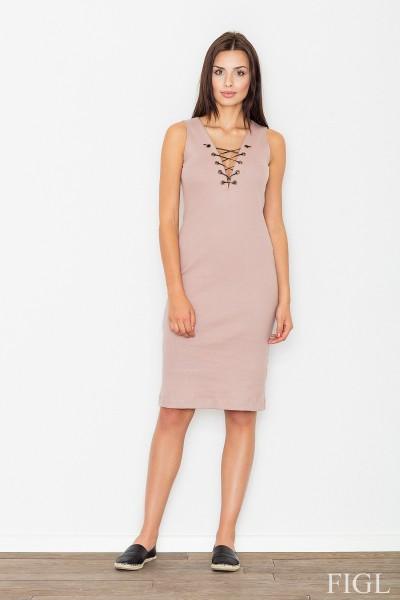 Dámské šaty Figl  M 487 růžová